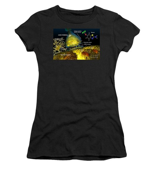 Riluzole Action, Illustration Women's T-Shirt