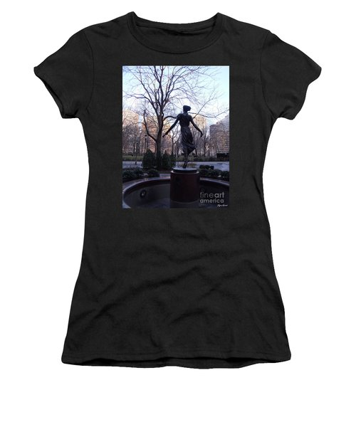 Rittenhouse Square At Dusk Women's T-Shirt (Athletic Fit)