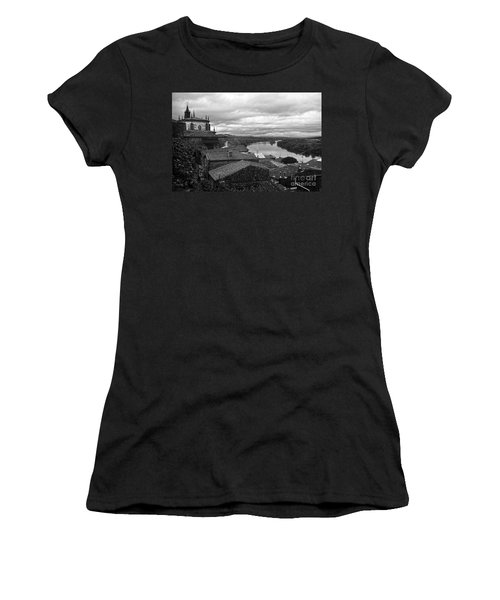River Mino And Portugal From Tui Bw Women's T-Shirt