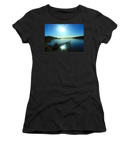 River Ryan Women's T-Shirt (Junior Cut) by Jason Lees