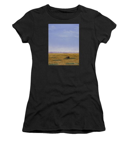 Roadside Attraction Women's T-Shirt (Athletic Fit)