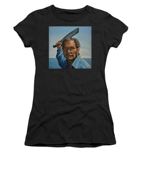Robert Shaw In Jaws Women's T-Shirt
