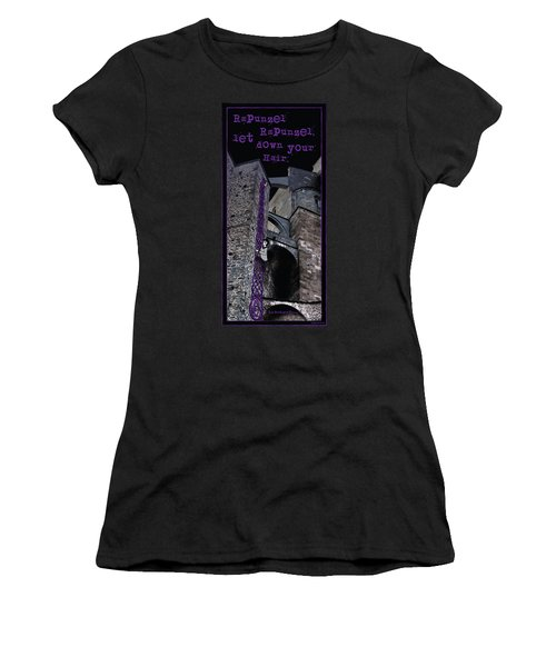 Rockin' Raven Celtic Rapunzel Women's T-Shirt (Athletic Fit)