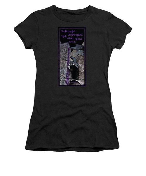 Rockin' Raven Celtic Rapunzel Women's T-Shirt (Athletic Fit)