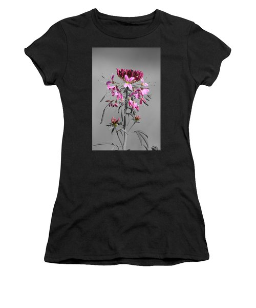 Rocky Mountain Bee Plant Sc Women's T-Shirt (Athletic Fit)