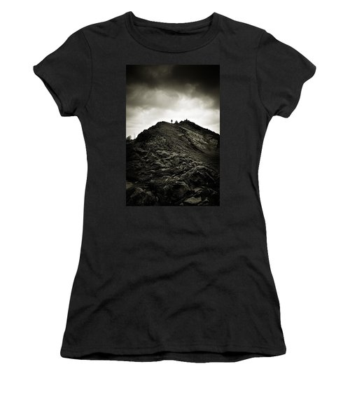 Rocky Pathway To Scotland Women's T-Shirt
