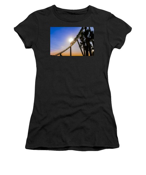 Roller Coaster Women's T-Shirt (Athletic Fit)