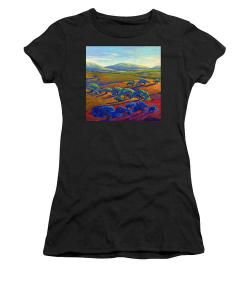 Rolling Hills 2 Women's T-Shirt (Athletic Fit)