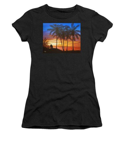Romance In Paradise Women's T-Shirt