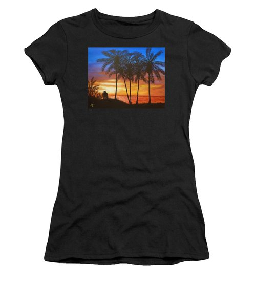 Romance In Paradise Women's T-Shirt