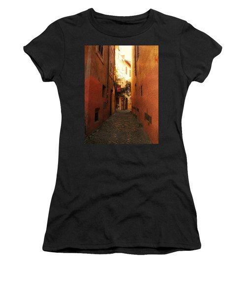 Romano Cartolina Women's T-Shirt (Athletic Fit)
