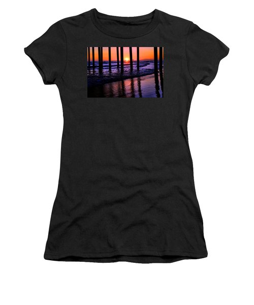 Women's T-Shirt (Junior Cut) featuring the photograph Romantic Stroll by Tammy Espino
