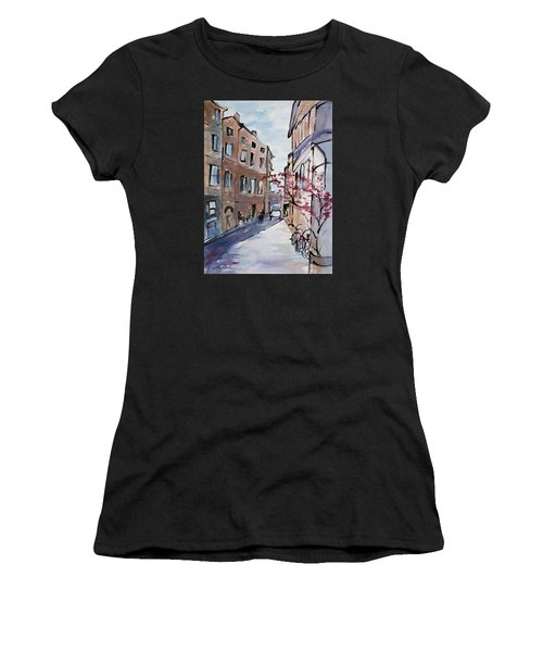 Rome Street Scene IIi Women's T-Shirt (Athletic Fit)