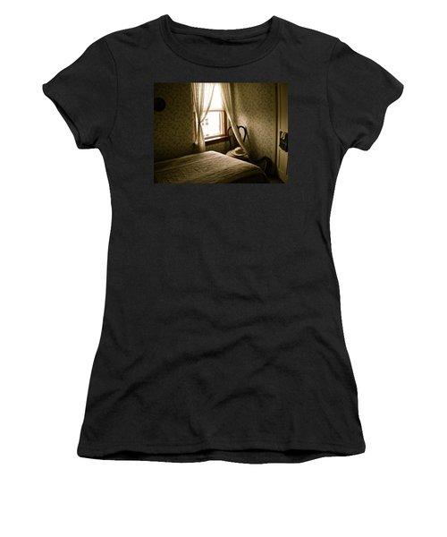Women's T-Shirt (Junior Cut) featuring the photograph Room301 Irish Inn by Joan Reese