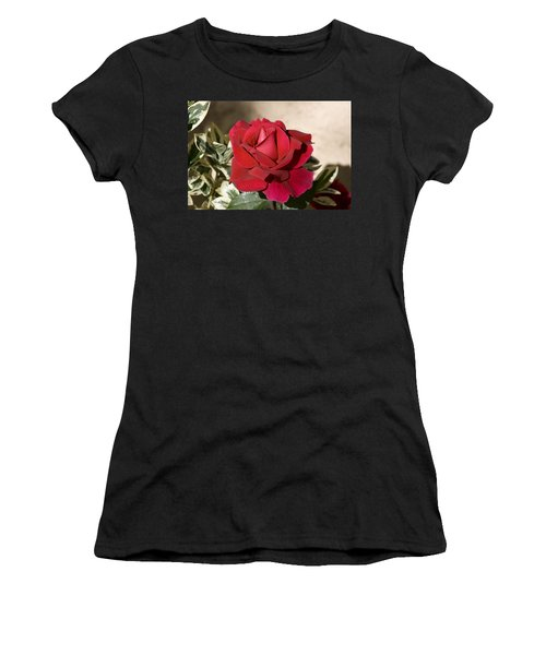Rose 5 Women's T-Shirt (Athletic Fit)
