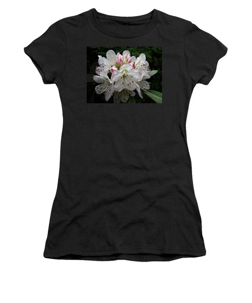 Rose Bay Rhododendron Women's T-Shirt (Athletic Fit)