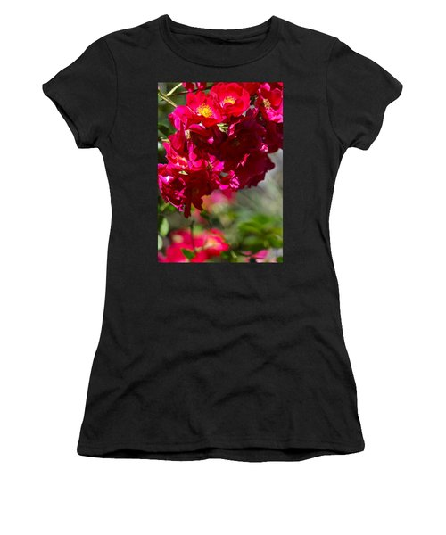 Women's T-Shirt (Junior Cut) featuring the photograph Rose Bouquet by Michele Myers