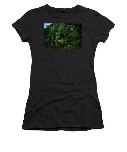 Rose Lake Beauty Women's T-Shirt
