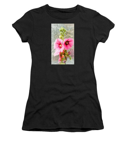 Rose Of The North Abstract. Women's T-Shirt