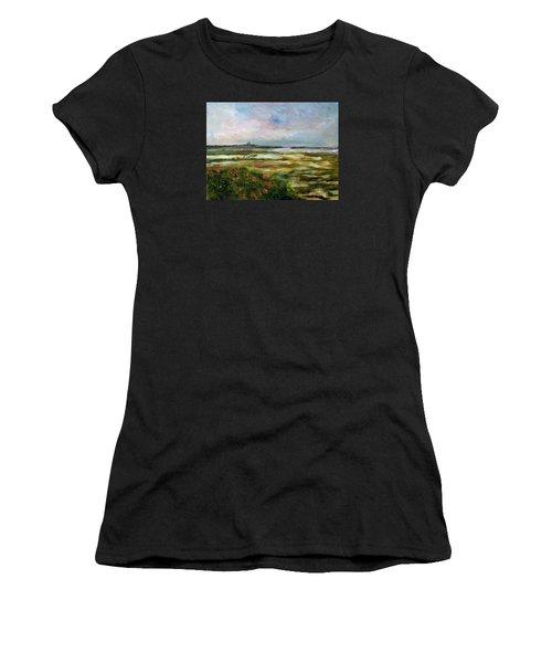 Roses Over The Marsh Women's T-Shirt