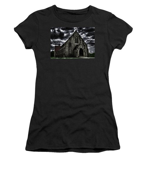 Roseville Ohio Church Women's T-Shirt (Athletic Fit)