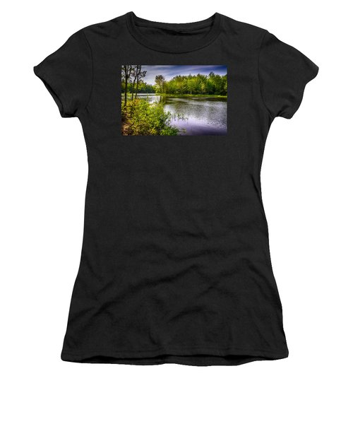 Women's T-Shirt (Junior Cut) featuring the photograph Round The Bend 35 by Mark Myhaver