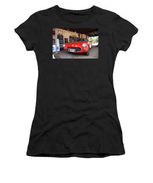 Route 66 Corvette Women's T-Shirt