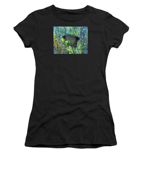 Royal Angelfish Women's T-Shirt (Athletic Fit)