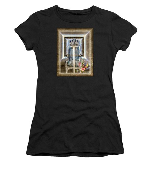Royal Golden Sword Women's T-Shirt (Athletic Fit)