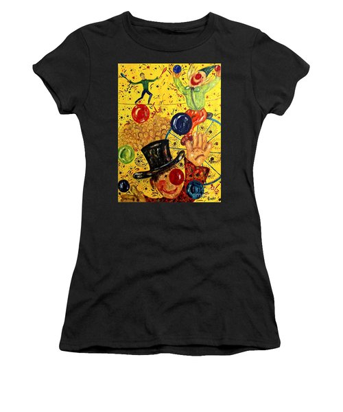 Run Away With A Circus Women's T-Shirt (Athletic Fit)