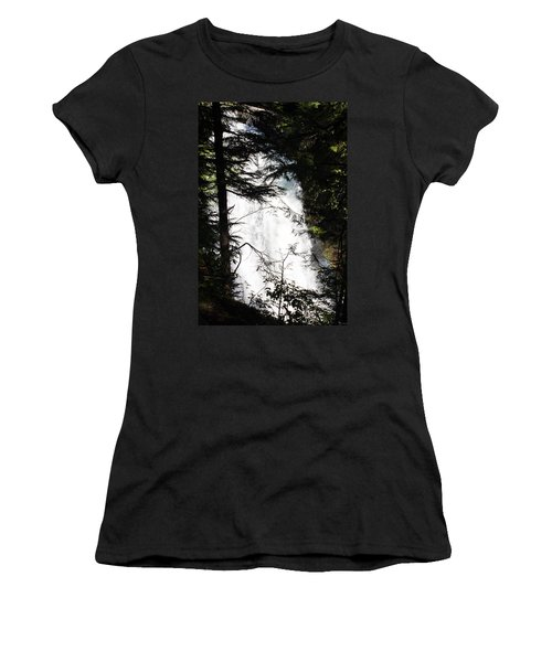 Rushing Through The Trees Women's T-Shirt (Athletic Fit)