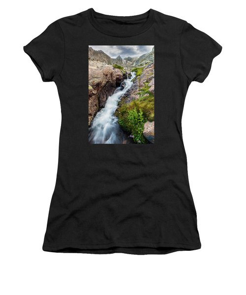 Rushing Thru Women's T-Shirt (Athletic Fit)