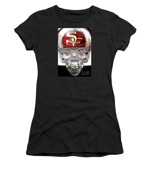 S. F. 49ers Women's T-Shirt (Junior Cut) by John King
