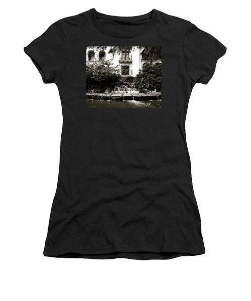Sa River Walk 001-2013 Women's T-Shirt (Junior Cut) by Shawn Marlow