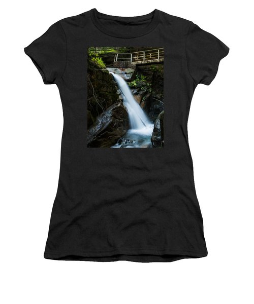 Sabbaday Falls Women's T-Shirt (Athletic Fit)