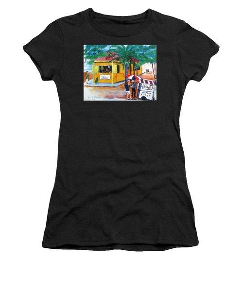 Sabor A Puerto Rico Women's T-Shirt (Athletic Fit)