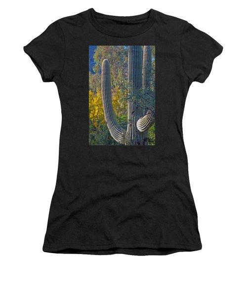 Saguaro Fall Color Women's T-Shirt
