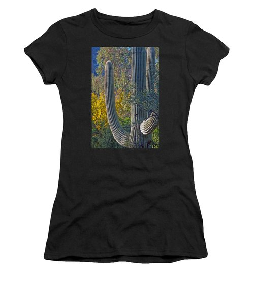 Saguaro Fall Color Women's T-Shirt