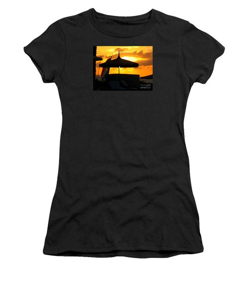 Women's T-Shirt (Junior Cut) featuring the photograph Sail Away With Me by Patti Whitten