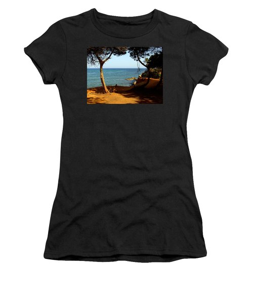 Sailing In Solitude Women's T-Shirt (Athletic Fit)