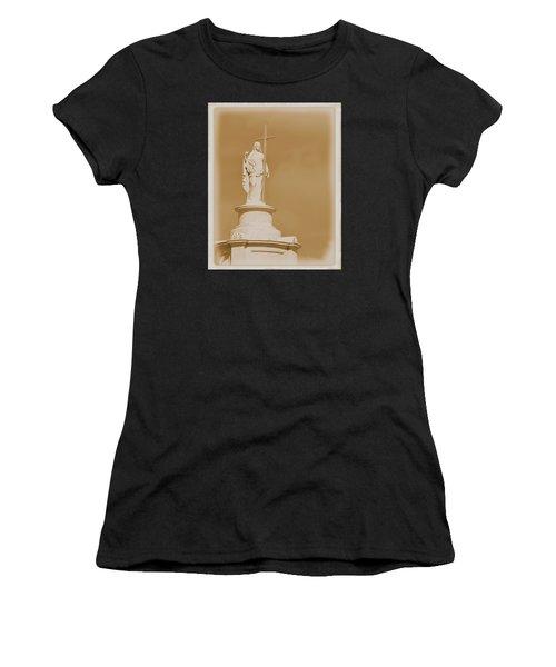 Saint With A Cross Women's T-Shirt