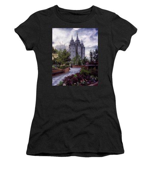 Salt Lake Temple Women's T-Shirt (Athletic Fit)