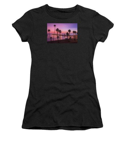 San Clemente Sunset Meditation Women's T-Shirt