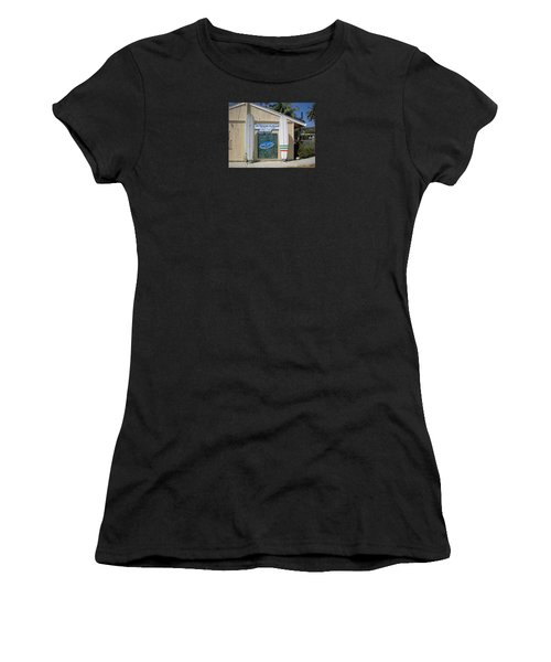 San Clemente Surfboards Women's T-Shirt (Athletic Fit)