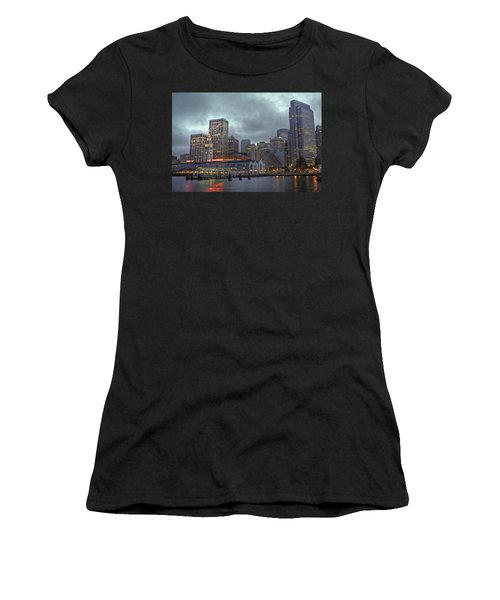 San Francisco Port All Lit Up Women's T-Shirt