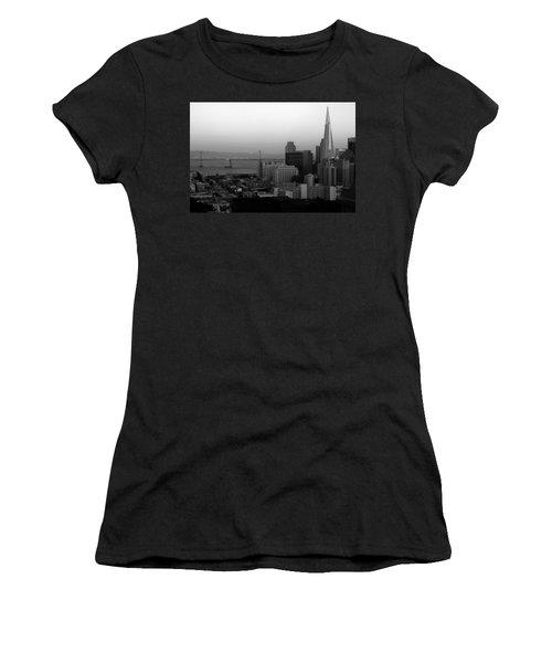 San Francisco Women's T-Shirt (Junior Cut) by Aidan Moran
