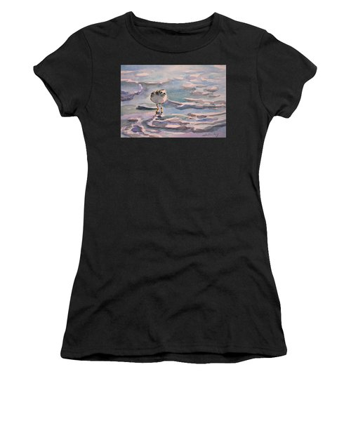 Sandpiper And Seafoam 3-8-15 Women's T-Shirt