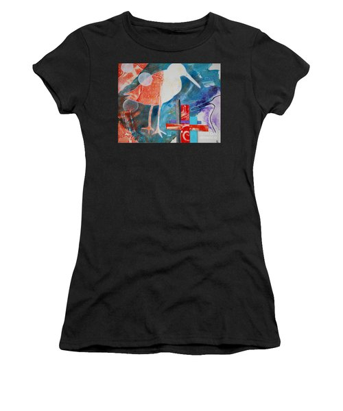 Sandpipers On The Shore Women's T-Shirt (Athletic Fit)