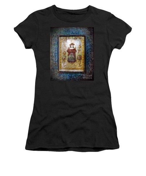 Santo Nino De Atocha Women's T-Shirt (Athletic Fit)