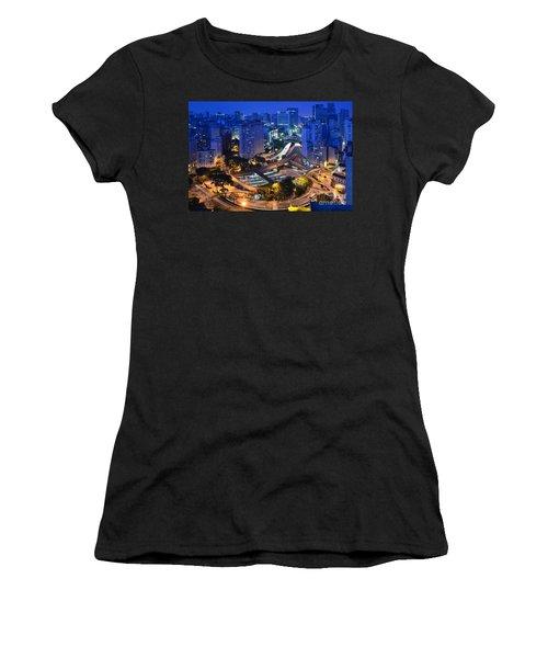 Sao Paulo Skyline - Downtown Women's T-Shirt